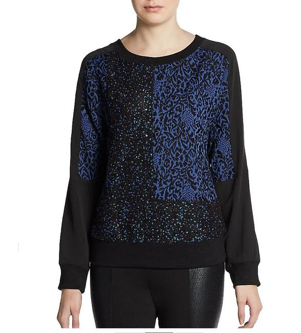 W118 by Walter Baker Sequin Panel Sweater