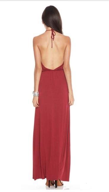 Dark Red Maxi Dress by Lovers + Friends