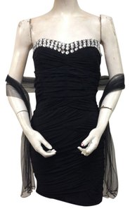 Martini Ranch Sheath Strapless Dress