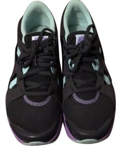Nike Black with purple and teal Athletic