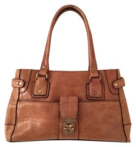 Liz Claiborne Tote in Tan Brown