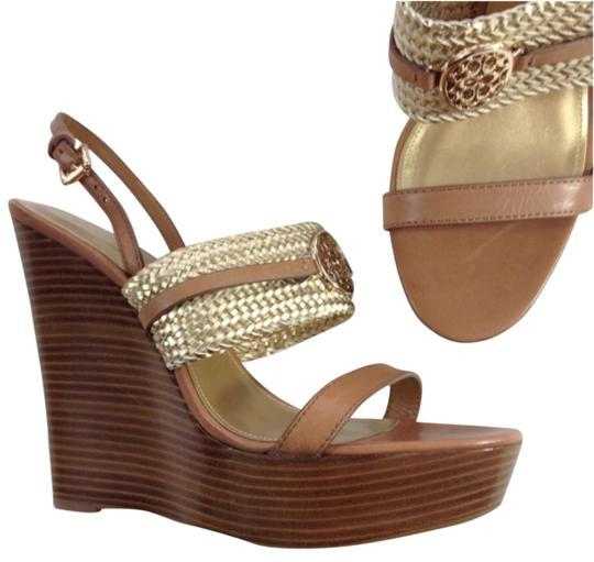 Coach Gold Sandals Image 0