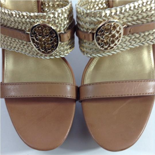Coach Gold Sandals Image 1