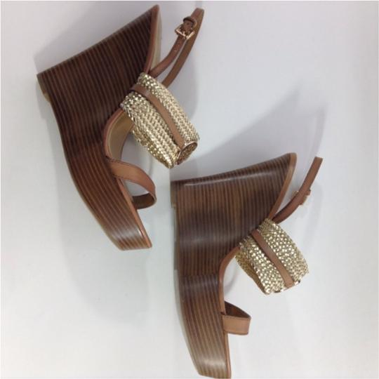 Coach Gold Sandals Image 2