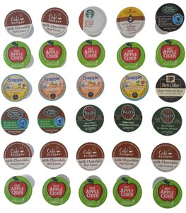 30 K-cups in different flavors