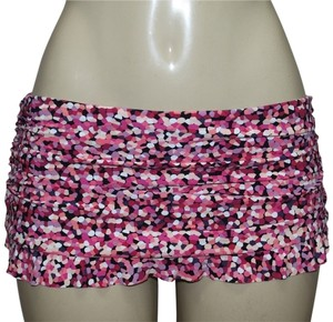 Gottex GOTTEX Flirty Skirted Hipster Bikini Swimsuit Bottoms Pink Size 12
