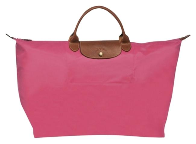 Item - Pliage 18 Malabar Pink Nylon Weekend/Travel Bag