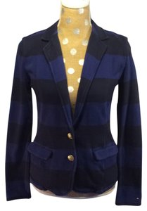 Tommy Hilfiger Navy/royal blue stripe Blazer