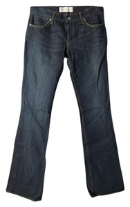Paper Denim & Cloth Low Rise Boot Cut Jeans-Dark Rinse