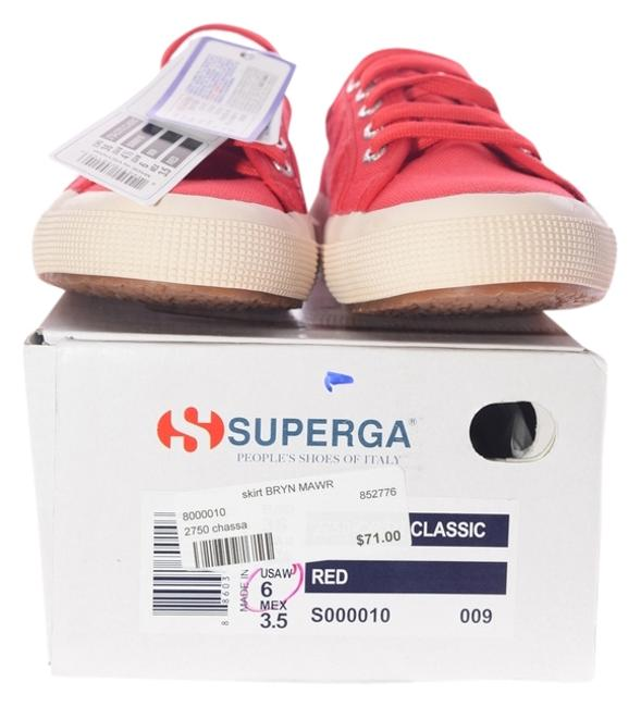 Item - Red Chassa Sneakers Size US 6 Regular (M, B)