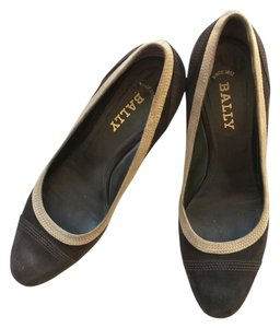 Bally Brown/beige Pumps