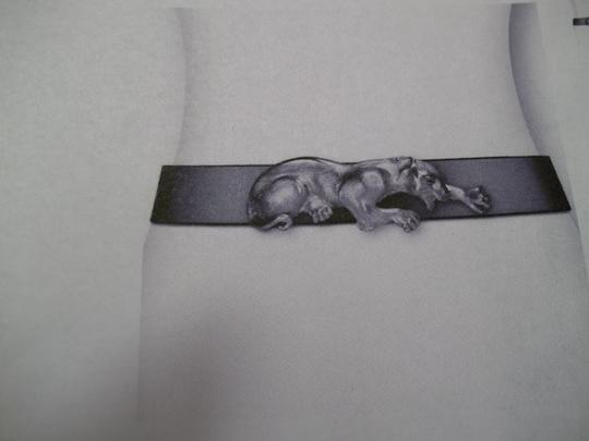 Christopher Ross Leaping Panther Belt Buckle