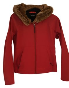 Marmot Fur Hood Cold Weather Coat