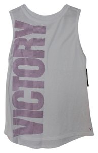 Old Navy NWT Old Navy Go-Dry Muscle Graphic Tank Top White Size Large Cotton Blend NEW
