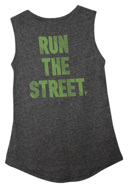 Item - Gray Go-dry Muscle Graphic Medium Cotton Activewear Top Size 8 (M, 29, 30)