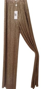 Michael Kors Wide Leg Pants Gold