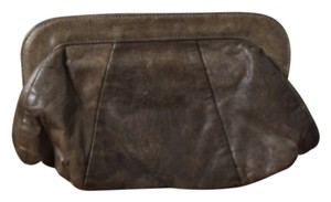 Lauren Merkin Brown Clutch