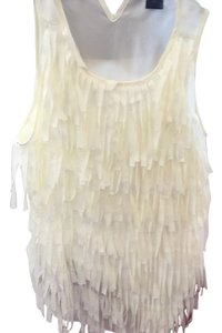 Ann Taylor Top Off white
