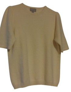 Pure Energy Cashmere Soft Short-sleeved Sweater