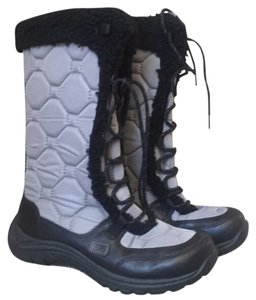 UGG Australia Grey and Black Boots