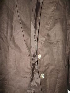 Ralph Lauren Brown LINEN Blazer