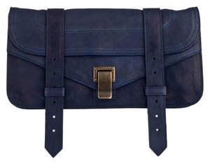 Proenza Schouler Ps1 Pochette Midnight blue Clutch