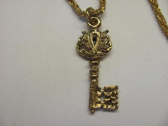 Other GOLD TONE KEY NECKLACE
