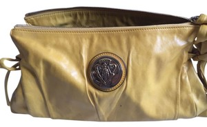 Gucci Leather Yellow Clutch