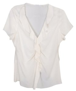 Tahari Top Cream