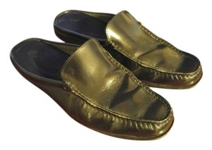 JP Tods Slip-ons Patent Leather Black Mules