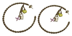 Louis Vuitton SALE!!!! LOUIS VUITTON SWEET MONOGRAM HOOP EARRINGS