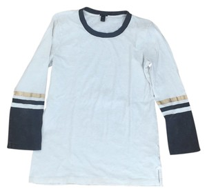 J.Crew Baseball T Shirt White