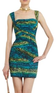 BCBGMAXAZRIA Nwt Paisley Bodycon Dress