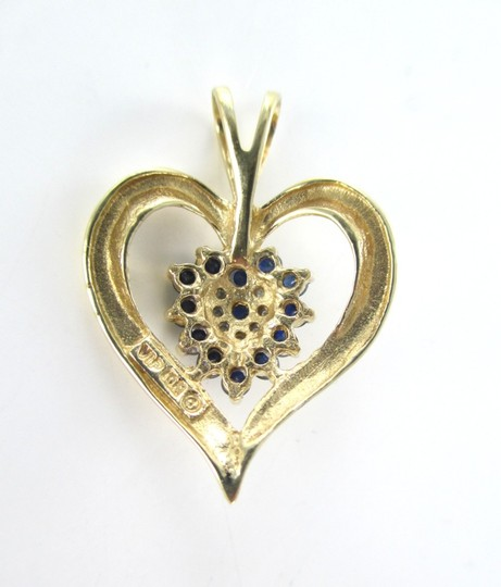 Other 10kt Yellow Gold Heart pendant with Diamonds