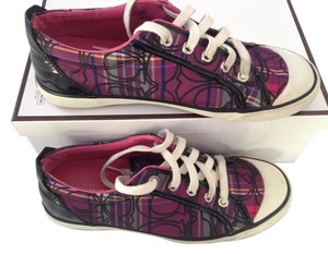 Coach Sneakers Purple Purple, Black Athletic