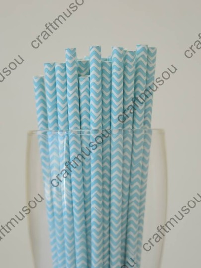 50 Pieces Paper Drinking Straws
