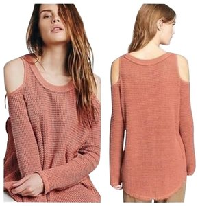 Free People Cold Shoulder Sunrise Sweater