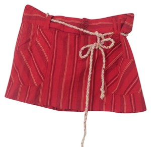 Guess Mini Skirt Red