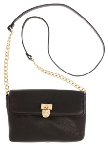 Calvin Klein Leather Chain Cross Body Bag