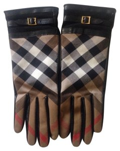 Burberry Burberry Tech Bridle Nicola Touch Gloves Size 7.5