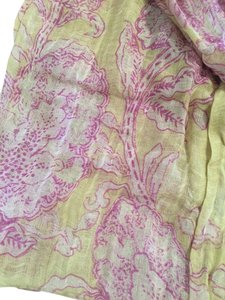 Anthropologie Printed Linen Scarf