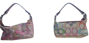 Coach Colorful Small Casual Handbag Tote