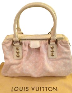 Louis Vuitton Tote in Pink and white