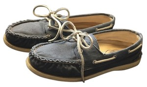 Sperry Washed Denim Flats