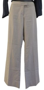 The Limited Flare Pants Beige with Black Stripes