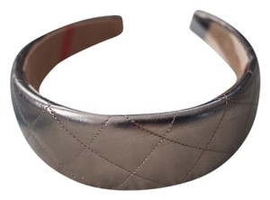 Burberry Burberry Quilted Leather Headband