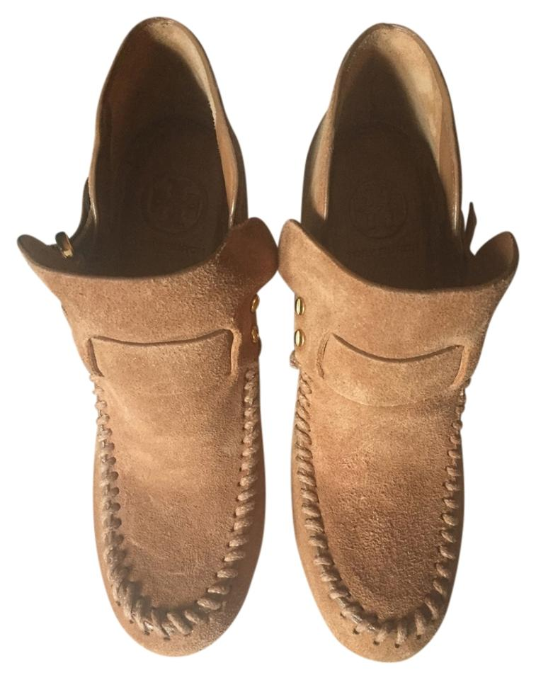Tory Boots/Booties Burch Camel Suede Leather Boots/Booties Tory 7a1b63