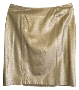 Ellen Tracy Skirt Gold