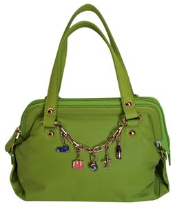 SHARON GIOE Leather Charms Shoulder Bag