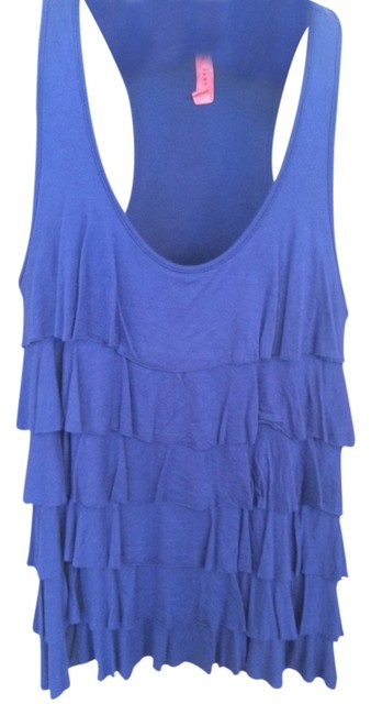 Preload https://img-static.tradesy.com/item/1144815/eight-sixty-royal-blue-layered-racerback-tank-topcami-size-4-s-0-0-650-650.jpg